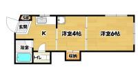 長居駅 2K 3階